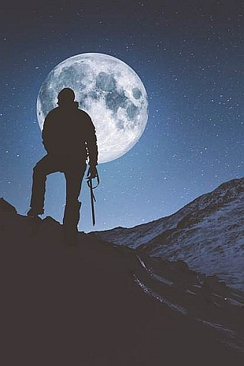 Mountains of the Moon - An evening with Alan Rowan – The Midnight Mountaineer!